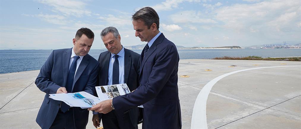 Μητσοτάκης: Στηρίζουμε ανεπιφύλακτα την επένδυση στο λιμάνι του Πειραιά