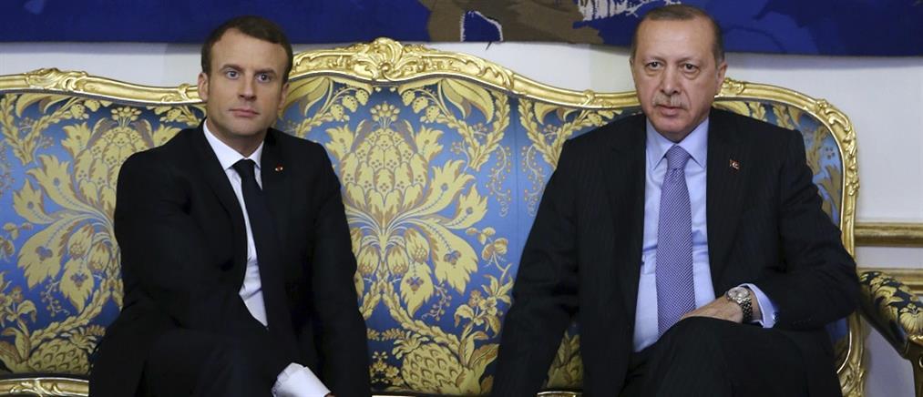 Μακρόν εναντίον Ερντογάν για την Λιβύη