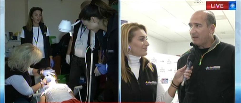 Axion Hellas: Δωρεάν ιατρικές εξετάσεις σε κατοίκους τριών μικρών νησιών του Ιονίου (βίντεο)