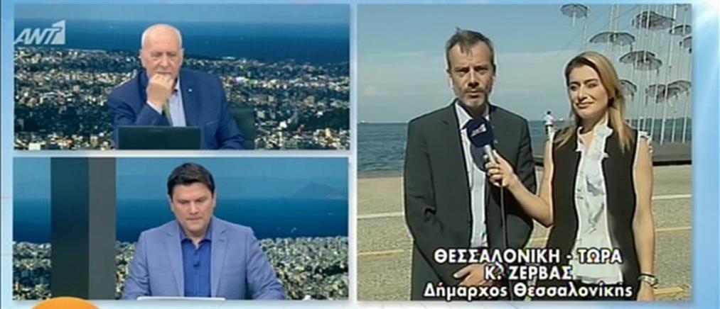 Εκλογές 2019: Ο Κωνσταντίνος Ζέρβας στον ΑΝΤ1 για τη νίκη του στο δήμο Θεσσαλονίκης (βίντεο)
