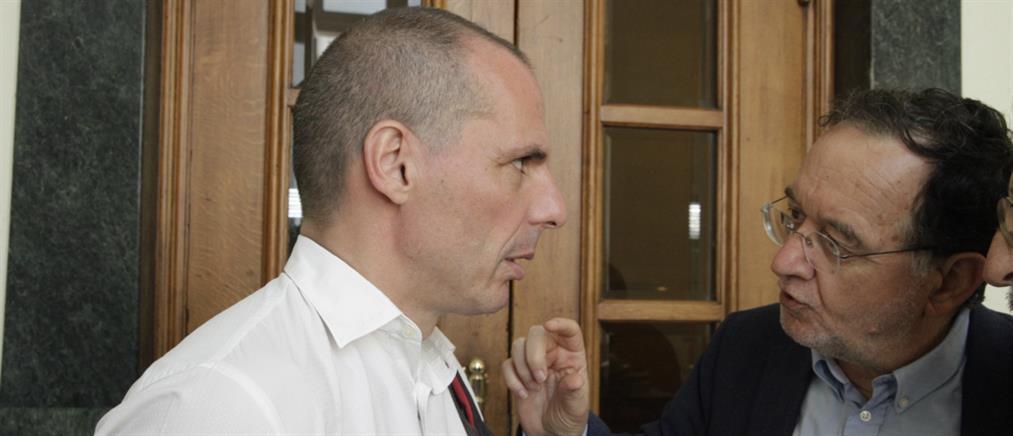 """Νέες """"φωτιές"""" για το Grexit από Βαρουφάκη και Λαφαζάνη"""