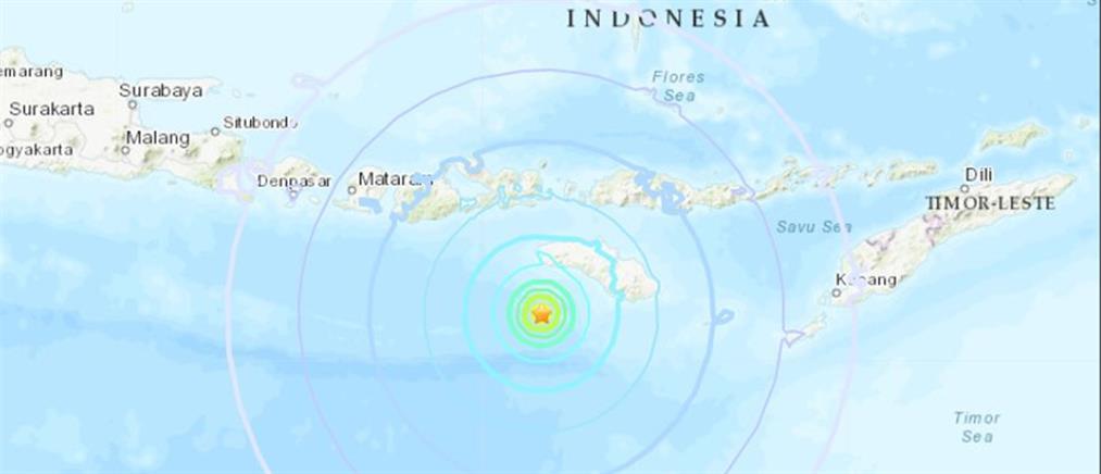 Ισχυρός σεισμός 7,5 Ρίχτερ στην Ινδονησία