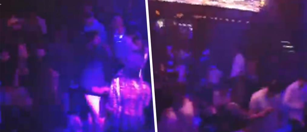 """Κορονοϊός: Το... """"έκαψαν"""" στα Λαδάδικα πριν το lockdown (βίντεο)"""