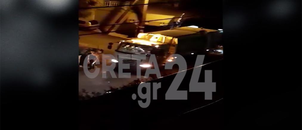 Βίντεο από την άγρια επίθεση σε υπαλλήλους καθαριότητας