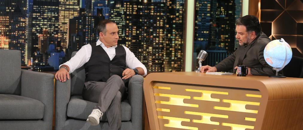 """Ο Κρατερός Κατσούλης μιλά για την υγεία του στο """"The 2night Show"""" (βίντεο)"""