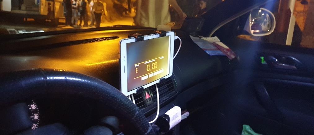 """Οδηγοί ταξί έκαναν """"κούρσες"""" με tablet αντί για ταξίμετρα (εικόνες)"""