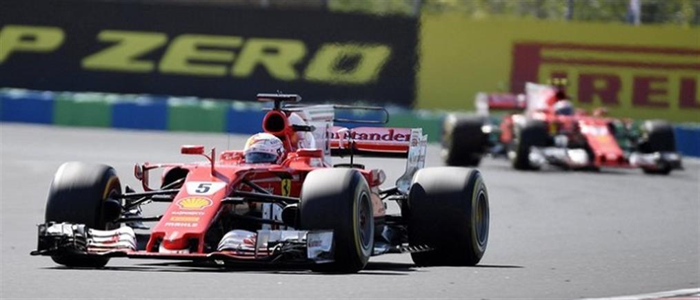Θρίαμβος του Φέτελ και της Ferrari στην Ουγγαρία