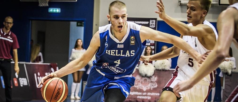 Eurobasket U18: πρώτη ήττα για την Εθνική Εφήβων