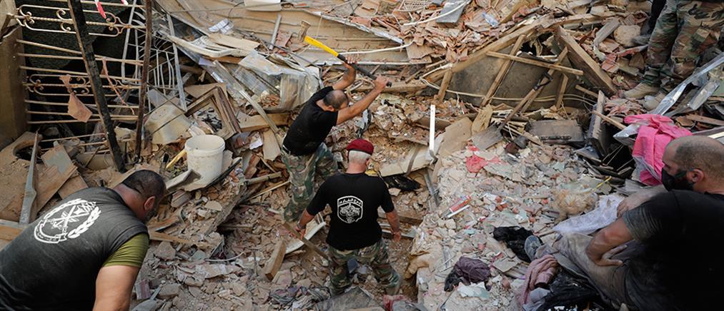 Βηρυτός: δεκάδες οι αγνοούμενοι στα συντρίμμια