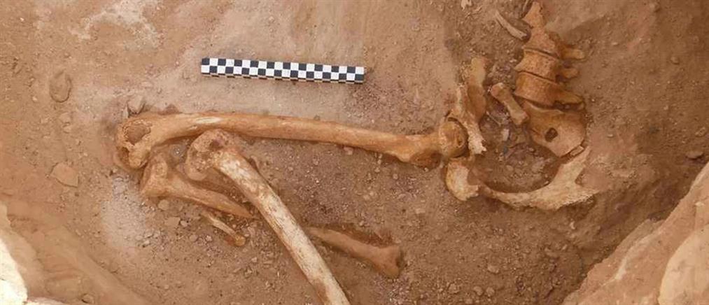 Ανακαλύφθηκε σκελετός εγκυμονούσας που έζησε πριν από 3200 χρόνια