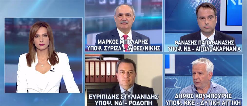 Εκλογές 2019: Μπόλαρης – Στυλιανίδης - Παπαθανάσης – Κουμπούρης στον ΑΝΤ1 (βίντεο)