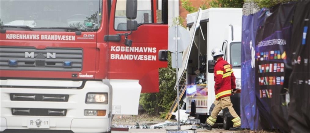 Έκρηξη έξω από την είσοδο του κτιρίου της Eurovision