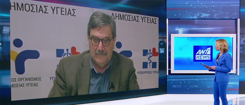 Παναγιωτόπουλος στον ΑΝΤ1 για κορονοϊό: πρώτος στόχος είναι η καθυστέρηση εξάπλωσης της επιδημίας (βίντεο)