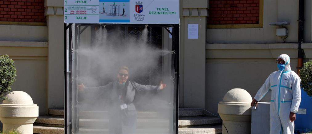 Κορονοϊός - Αλβανία: Ρεκόρ κρουσμάτων το τελευταίο 24ωρο