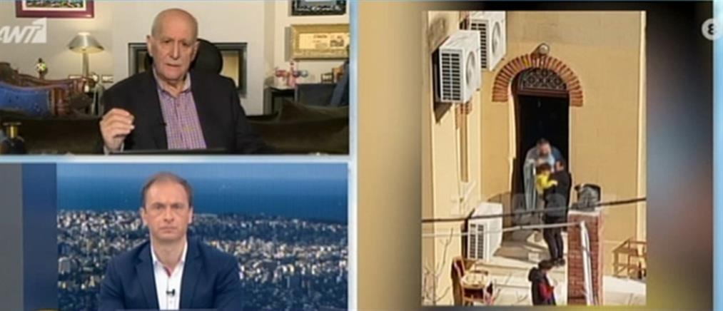 Τι λέει στον ΑΝΤ1 ο ιερέας που κοινώνησε πιστούς στο Κουκάκι (βίντεο)