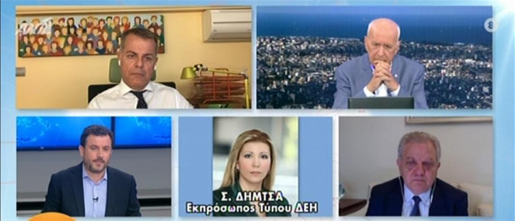 Δήμτσα στον ΑΝΤ1: ποιοι δικαιούνται εκπτώσεις στα τιμολόγια της ΔΕΗ (βίντεο)