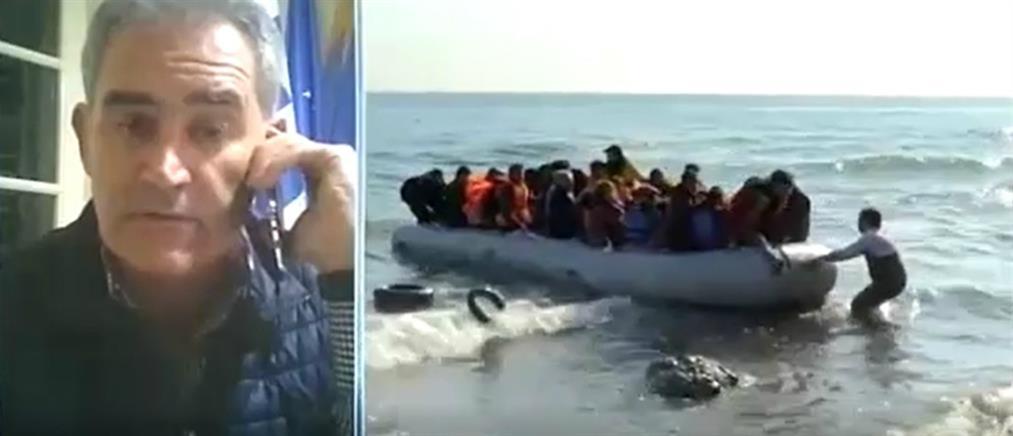 Βλαχόπουλος στον ΑΝΤ1: διακοπή στις έρευνες για τους αγνοούμενους στου Παξούς (βίντεο)