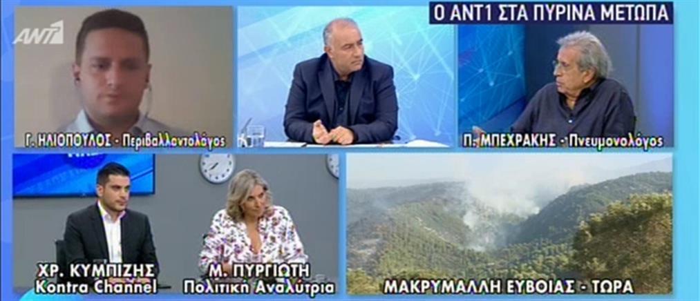Μπεχράκης στον ΑΝΤ1: δωρεάν εξετάσεις για τους κατοίκους της Εύβοιας (βίντεο)