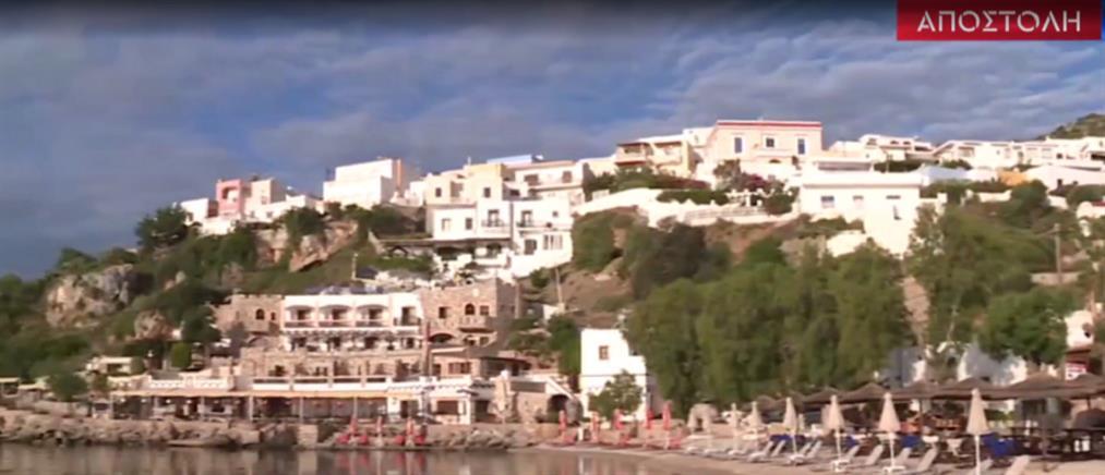 Ο ΑΝΤ1 στη Λέρο: έτοιμο να υποδεχθεί επισκέπτες το ακριτικό νησί (βίντεο)