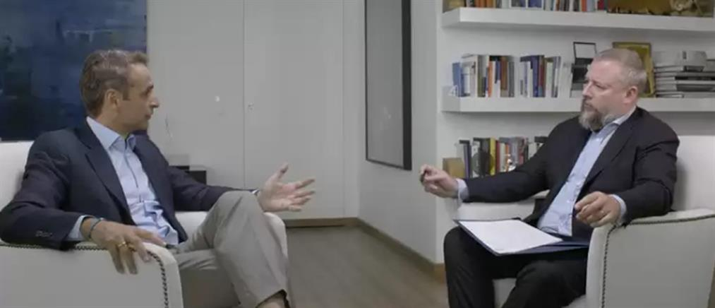 Η διαφορετική συνέντευξη του Κυριάκου Μητσοτάκη στον Shane Smith για το VICE (βίντεο)