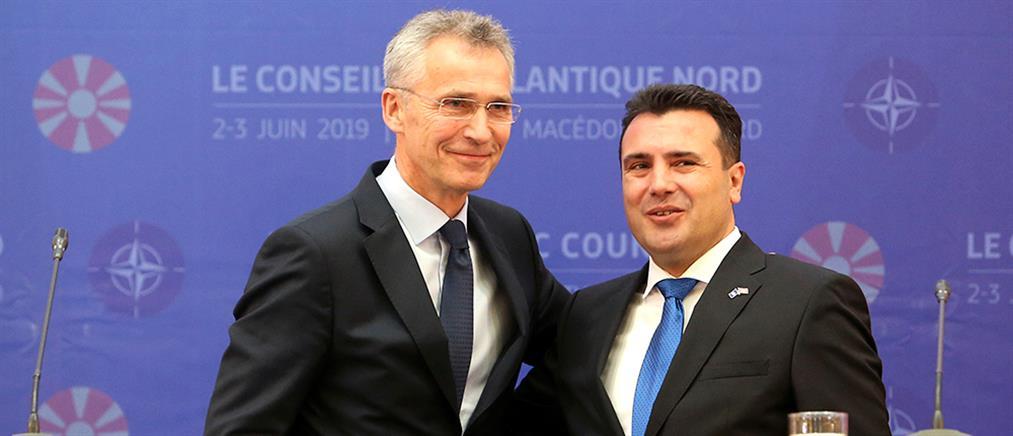 Έπαινοι του ΝΑΤΟ για την Βόρεια Μακεδονία