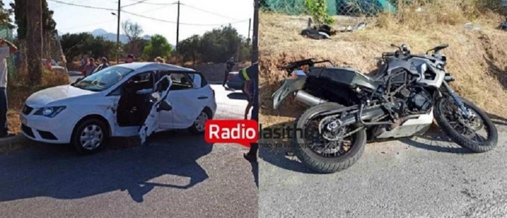 Τροχαίο στην Ιεράπετρα: Νεαρός μοτοσικλετιστής τραυματίστηκε σοβαρά