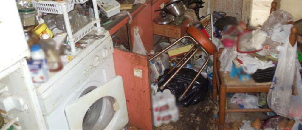 Θεσσαλονίκη: Είχε κάνει το σπίτι του σκουπιδότοπο (ΦΩΤΟ)