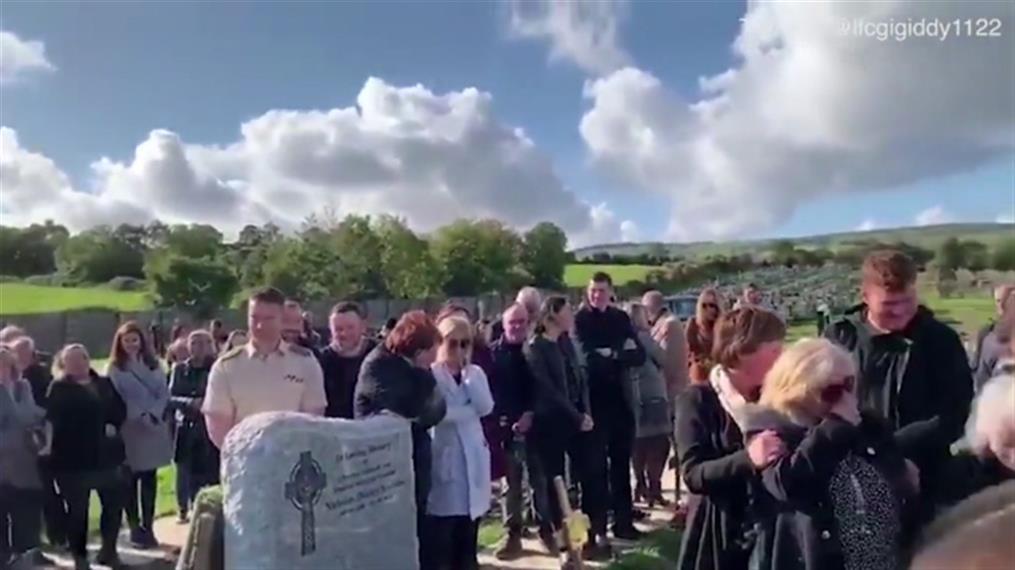 Μίλησε στους συγγενείς του μέσα από το φέρετρο, στην ίδια του τη κηδεία