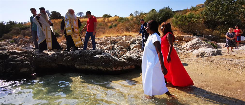 Κενυάτισσα βαπτίστηκε Χριστιανή στην Αργολίδα (εικόνες)