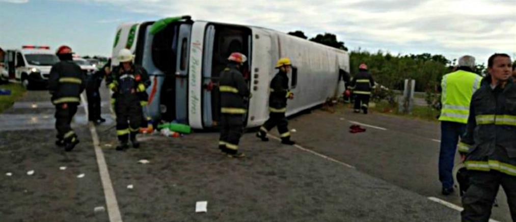 Τραγωδία σε σχολική εκδρομή στην Αργεντινή: Δύο παιδιά νεκρά, δεκάδες τραυματισμένα (εικόνες)