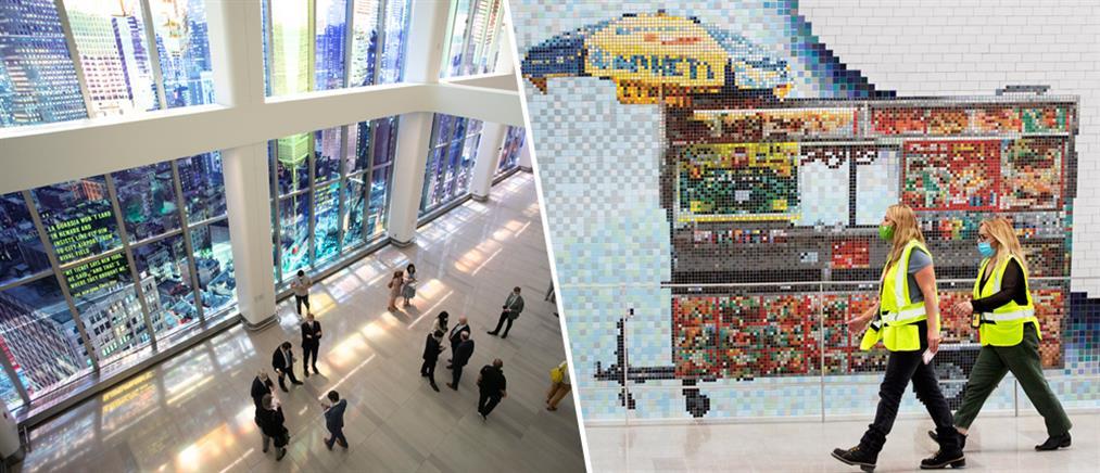 Εντυπωσιακά έργα τέχνης κοσμούν το αεροδρόμιο LaGuardia (εικόνες)