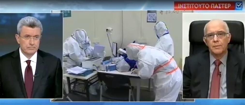 Μεντής στον ΑΝΤ1: δεν πρέπει να φοβόμαστε τον κορονοϊό περισσότερο από τη γρίπη (βίντεο)