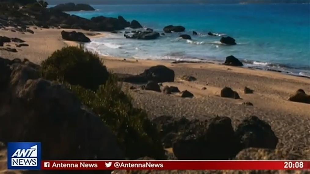 """Βίντεο """"μαγεία"""" από τις παραλίες τα Κρήτης"""