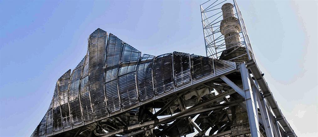 Κλιμάκιο της ΕΥΠ στο τέμενος Βαγιαζήτ για τις τεράστιες καταστροφές