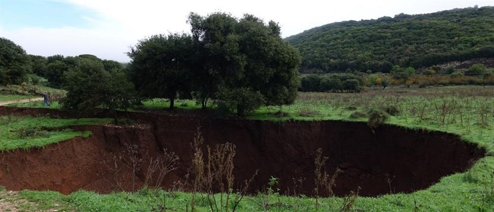 Σεισμός στα Γιάννενα: Άνοιξε η γη στο Καλπάκι (βίντεο)