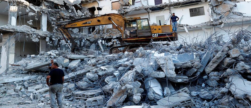 """Το Ισραήλ """"ξαναχτυπά"""" τη Γάζα"""