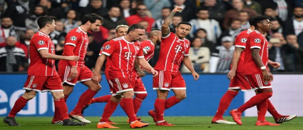 "Champions League: πέρασε στους ""8"" με ρεκόρ η Μπάγερν"