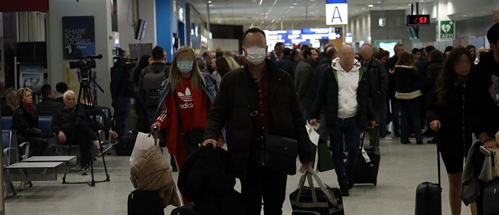 """""""Βουτιά"""" στην επιβατική κίνηση των αεροδρομίων"""