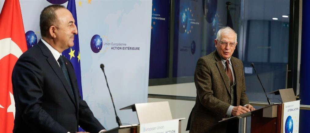 Μπορέλ: η ΕΕ πρέπει να συνεχίσει να συνεργάζεται ενεργά με την Τουρκία