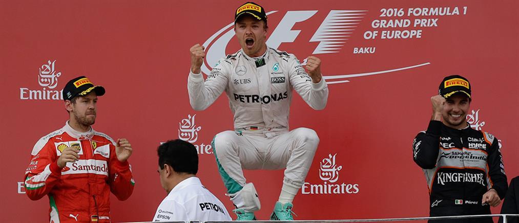GP Ευρώπης: Νικητής ο Ρόσμπεργκ