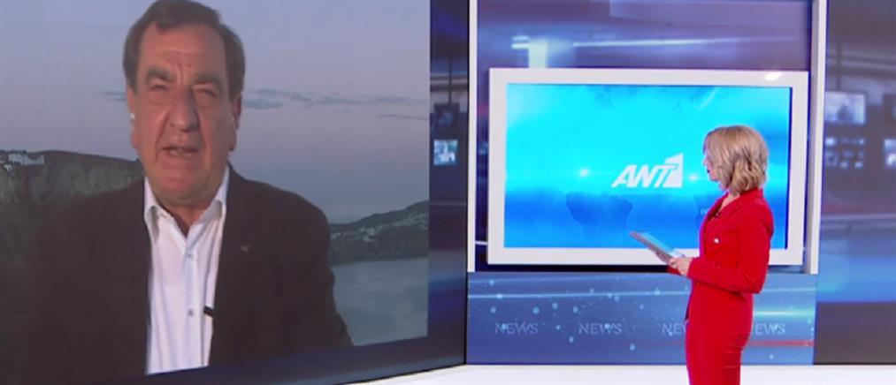 Δήμαρχος Σαντορίνης στον ΑΝΤ1: οι τιμές στο νησί μας είναι ελκυστικές (βίντεο)