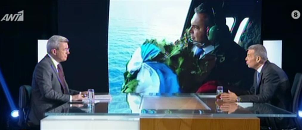 Καμμένος στον ΑΝΤ1 για Ίμια: είμαι πεπεισμένος ότι το ελικόπτερο χτυπήθηκε από πυρά