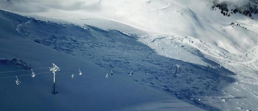 Βασιλίτσα: σκιέρ καταπλακώθηκε από χιονοστιβάδα