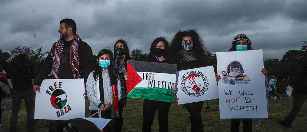 ΗΠΑ – Ουάσιγκτον: διαδήλωση υπέρ των Παλαιστινίων (εικόνες)