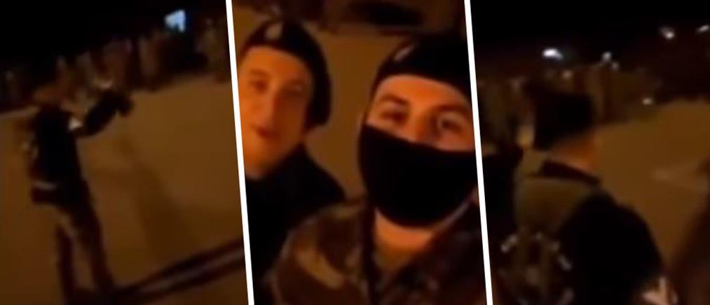 Αλβανοί φέρονται να δίνουν στρατιωτικά παραγγέλματα σε Έλληνες στρατιώτες (βίντεο)