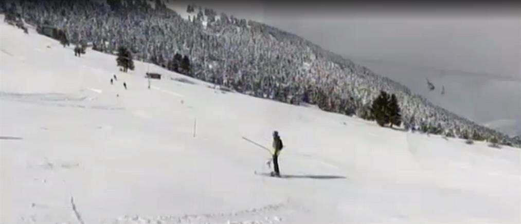 "Lockdown: στον ""πάγο"" τα χιονοδρομικά κέντρα (βίντεο)"