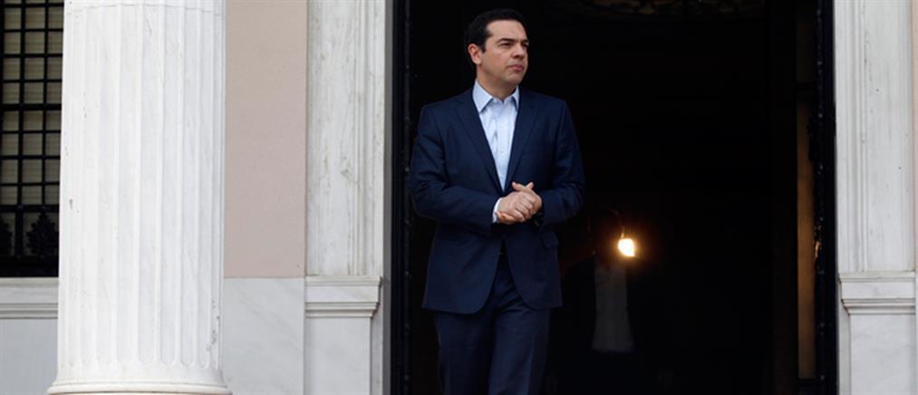Επαφές Τσίπρα με πολιτικούς αρχηγούς για Eurogroup και Κυπριακό