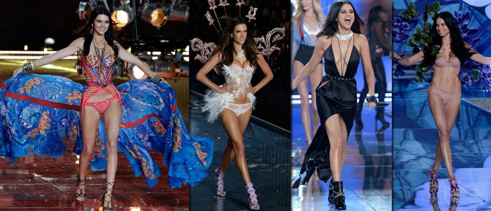 Εντυπωσιακό και φέτος το Fashion Show της Victoria's Secret