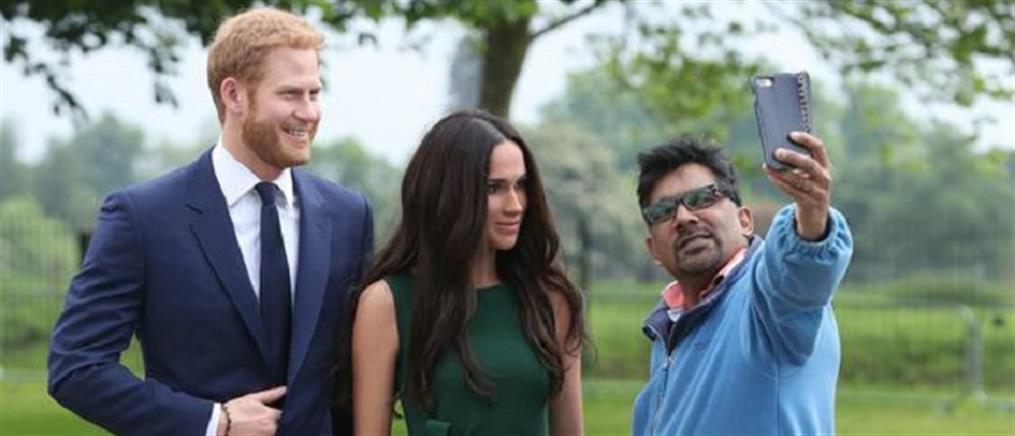 Παροξυσμός για μία selfie με… Πρίγκιπα Χάρι και Μέγκαν (βίντεο)
