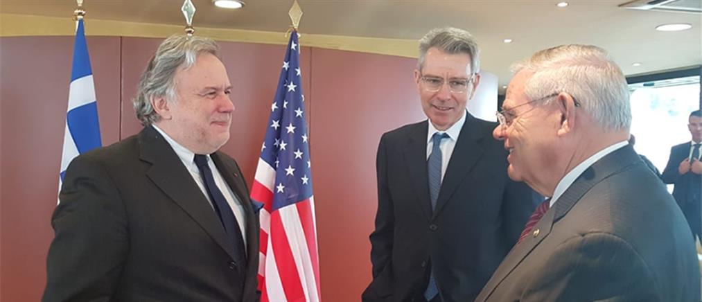 Μενέντεζ: κοινά τα συμφέροντα Ελλάδας – ΗΠΑ στην περιοχή